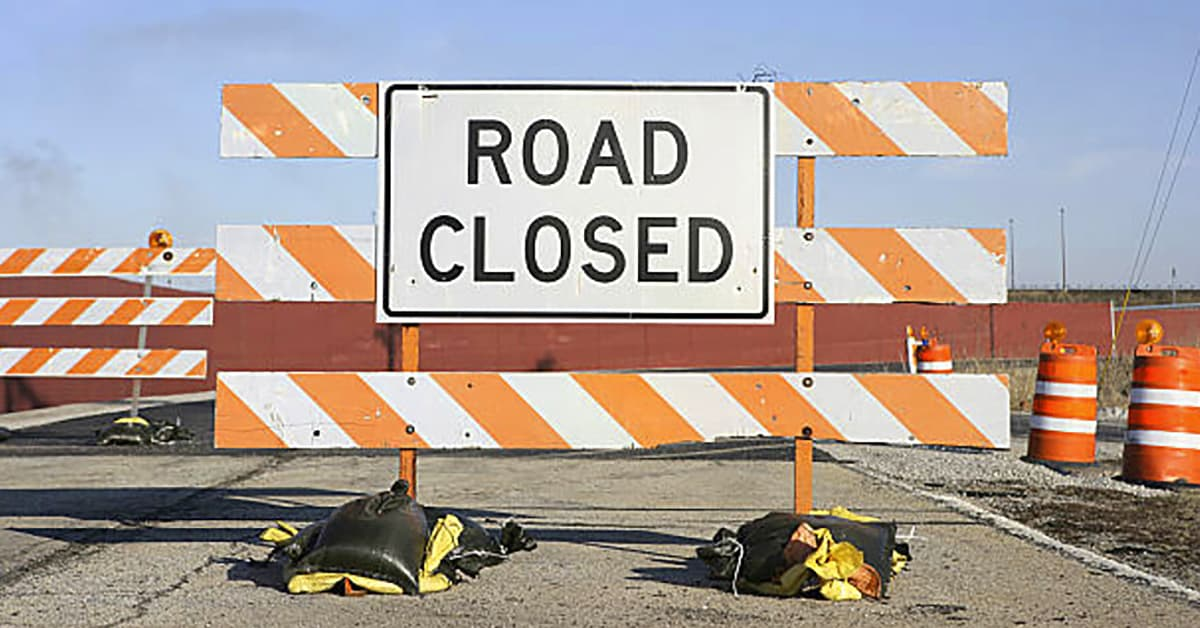 Road Closures due to Bridge Replacements